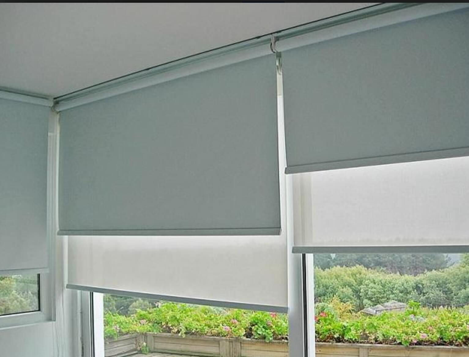 Cortinas roller aluprof hogar for Anillas con pinza para cortinas